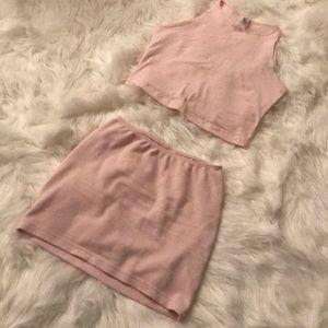 American apparel two piece set